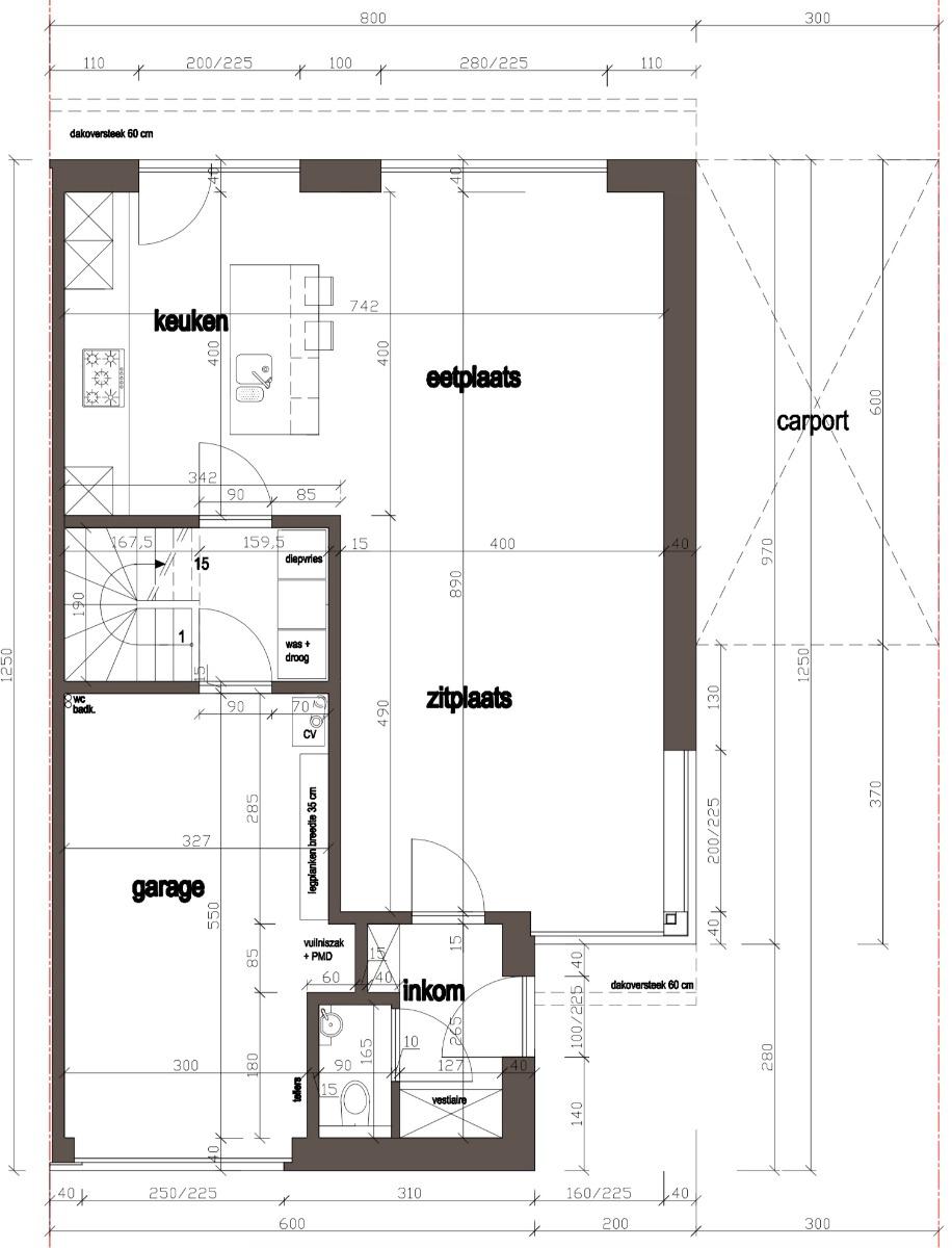 Halfopenbebouwing centraal in Heuvelland - 6