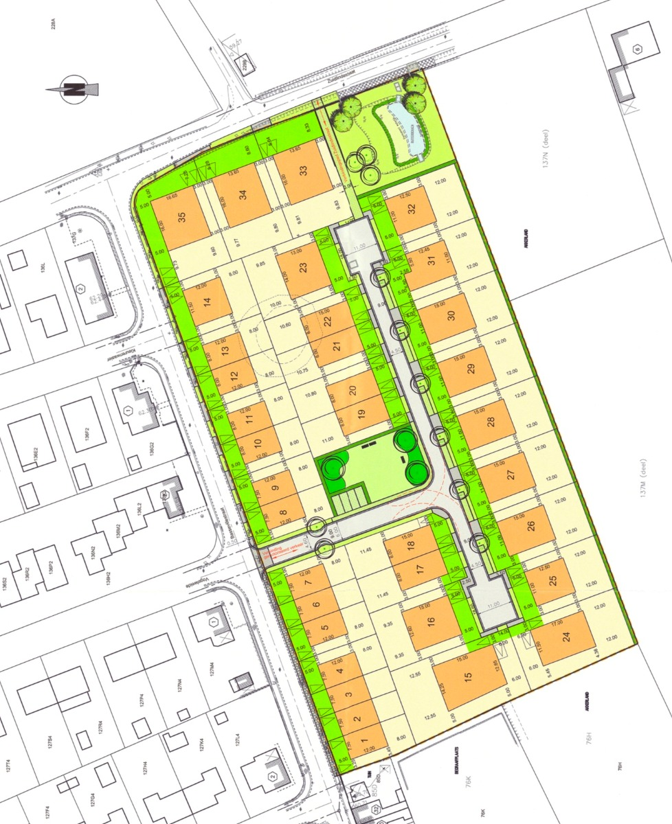 Halfopenbebouwing centraal in Heuvelland - 8