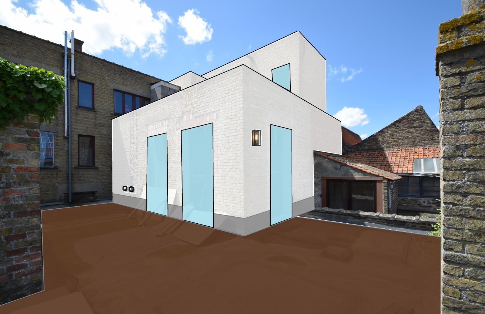 Verder af te werken penthouse (112m²) in centrum Diksmuide - 5