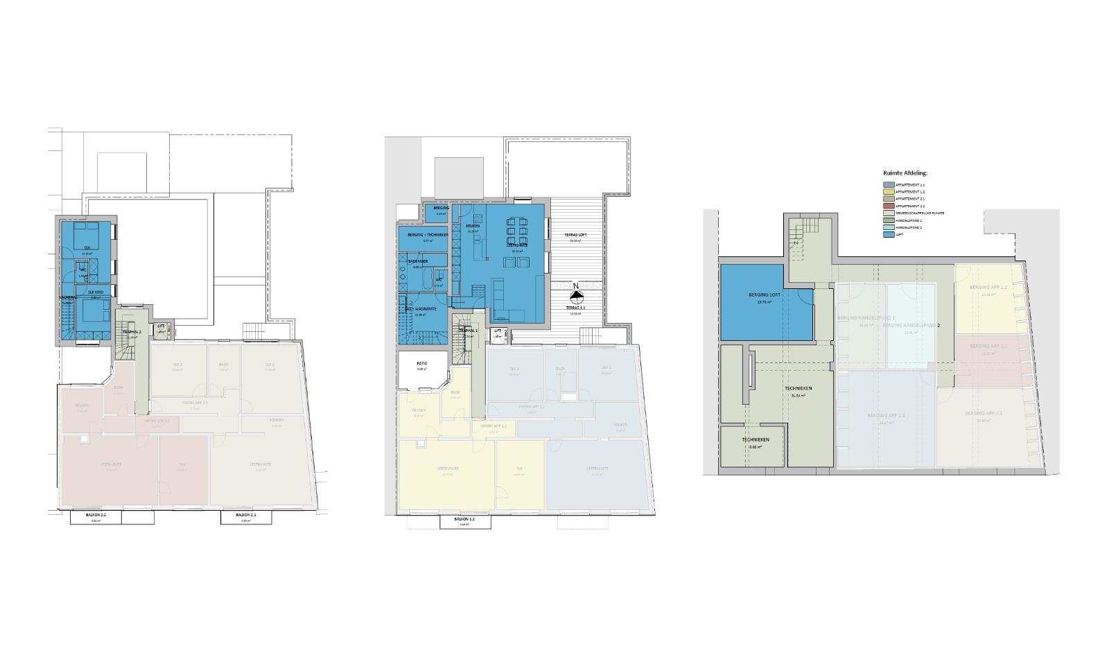 Verder af te werken penthouse (112m²) in centrum Diksmuide - 3