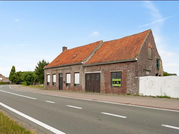 Te renoveren woning op landelijke ligging
