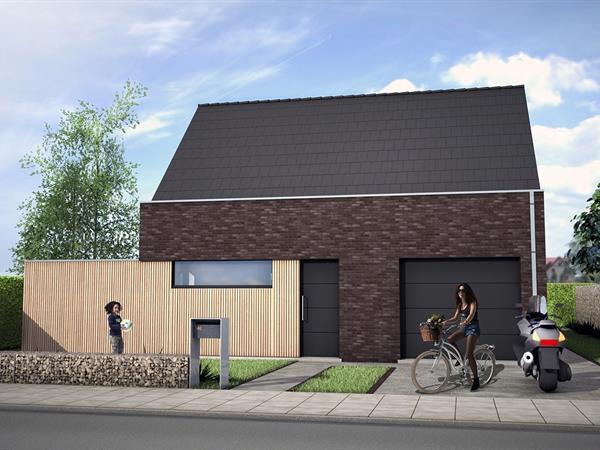 Nieuwbouw woning gelegen in Heuvelland