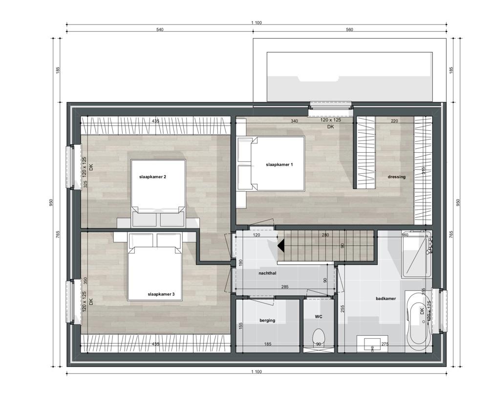 Ruim perceel voor alleenstaande woning - 2