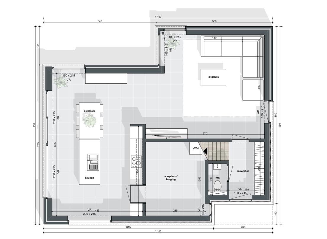 Ruim perceel voor alleenstaande woning - 3