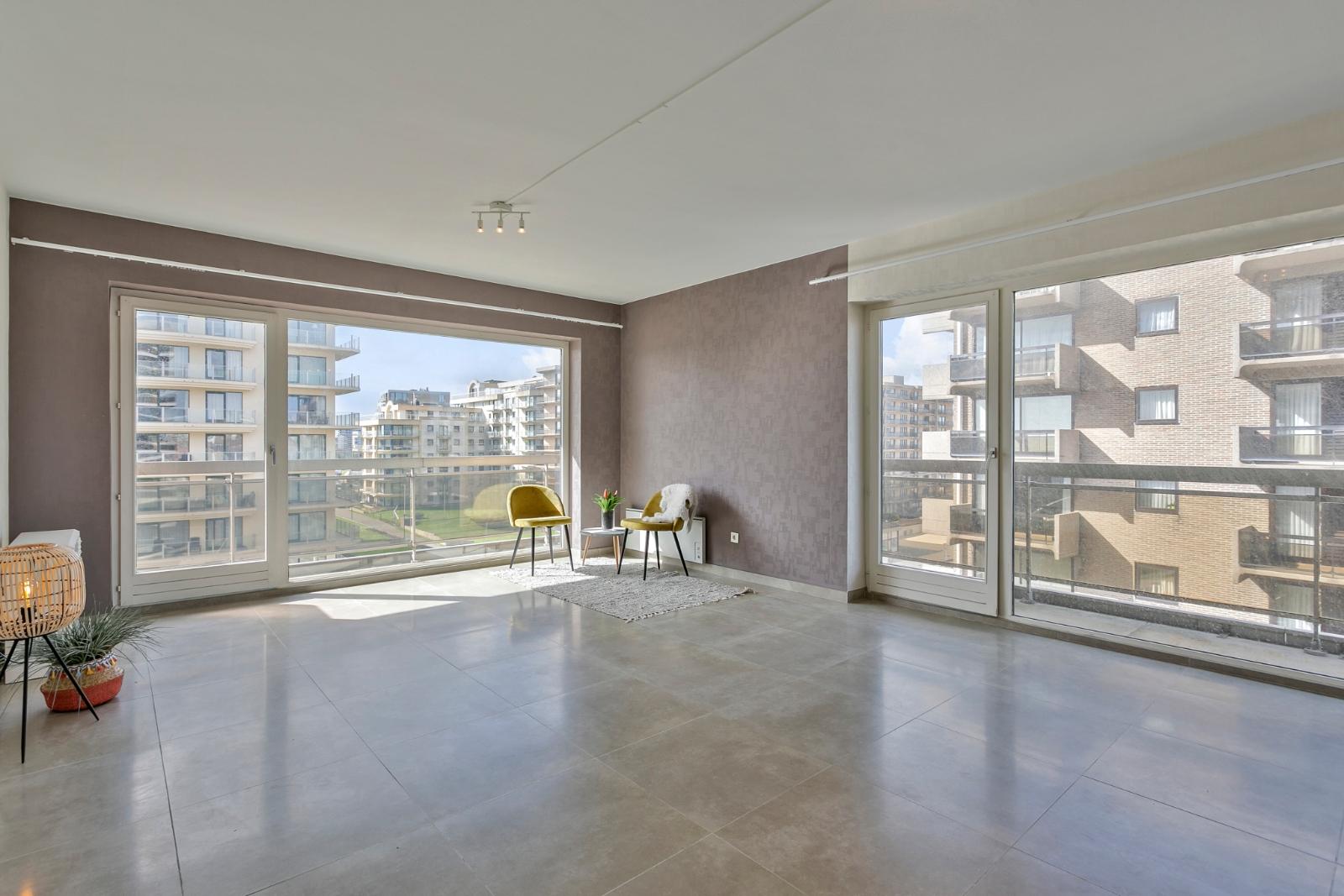 Ruim appartement met zicht op de Leopold I Esplanade. - 2