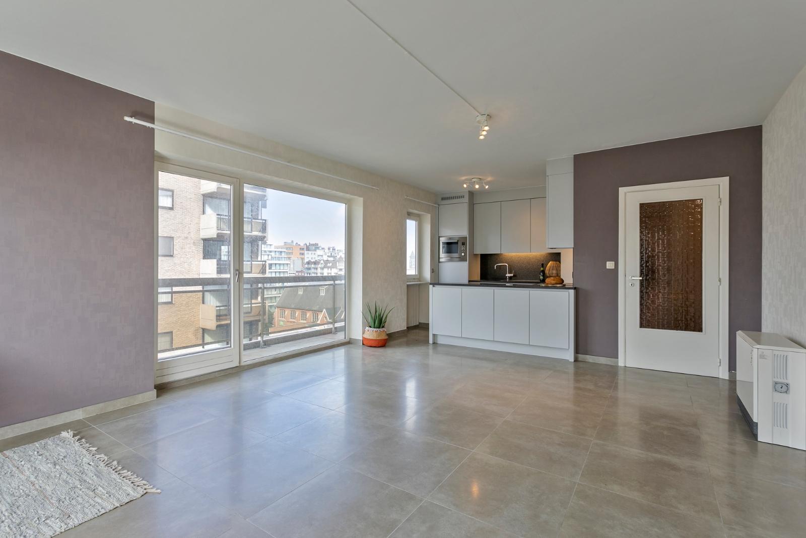 Ruim appartement met zicht op de Leopold I Esplanade. - 3