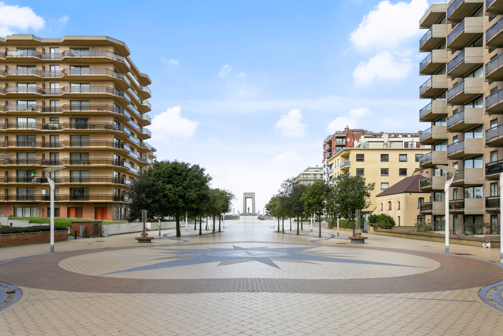 Ruim appartement met zicht op de Leopold I Esplanade. - 11