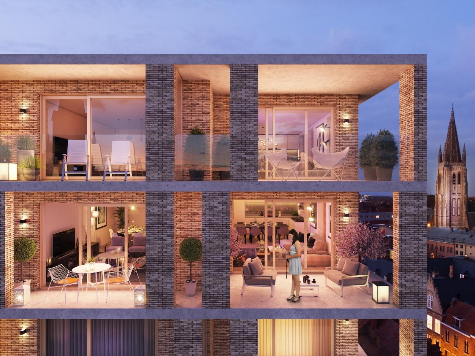 Residentie Pietershof: een unieke realisatie in het hartje van de stad - 14