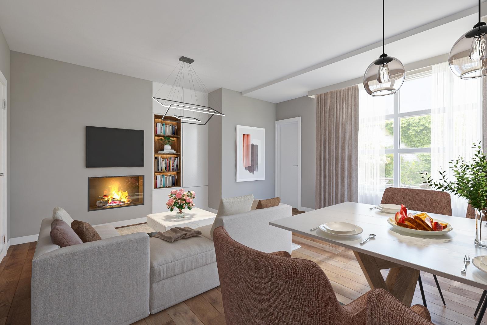 Centraal gelegen, te renoveren woning met mogelijkheid tot tweewoonst - 8