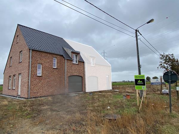 kwalitatieve nieuwbouwwoning in pastorie stijl