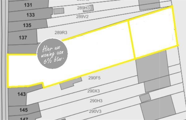 Bouwgrond van 1550 m² - Bouwen aan 6% BTW
