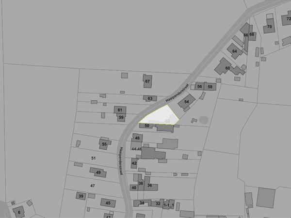 Perceel bouwgrond voor open bebouwing, gelegen te Izegem