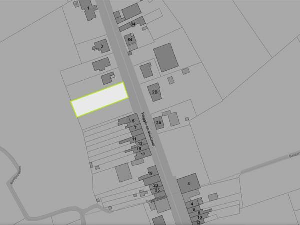 Ruim perceel (1179m2) bouwgrond voor vrijstaande woning