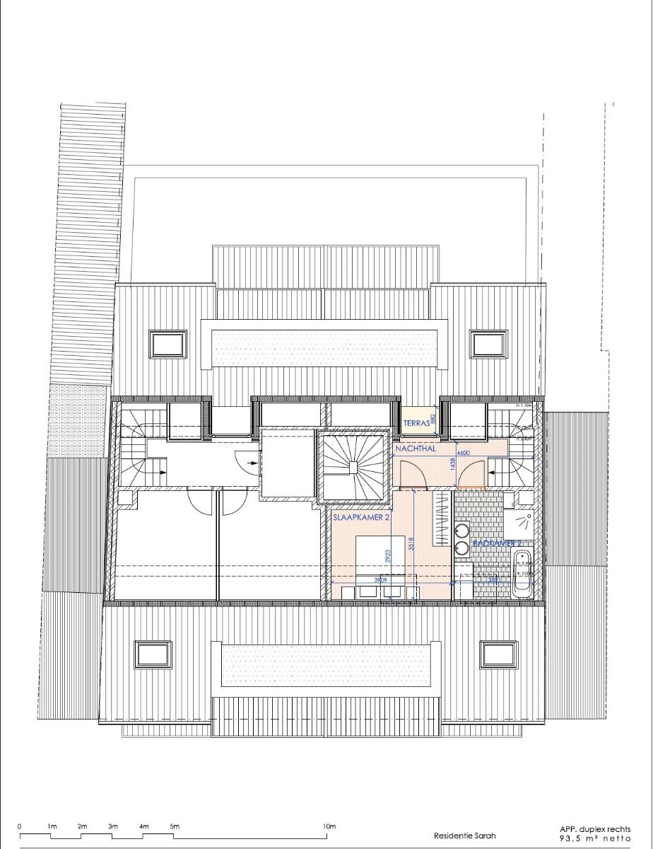Nieuw, duplex appartement in harte Oostduinkerke. - 9